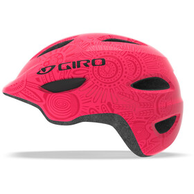 Giro Scamp MIPS Cykelhjelm Børn, bright pink/pearl